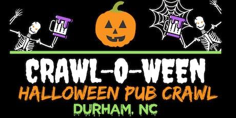 Crawl-O-Ween - Durham [Halloween Pub Crawl] tickets