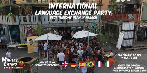 Martes Latino: FREE language exchange and party with native speakers in Munich