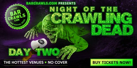 Barcrawls.com Presents The Charleston Halloween Day Bar Crawl Day 2 tickets