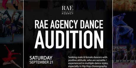 Rae Agency Dancer Audition tickets