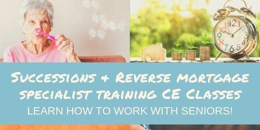 Finance as a Marketing Tool & Reverse Mortgage CE Class