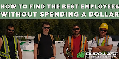 How To Find The Best Employees Without Spending A Dollar tickets