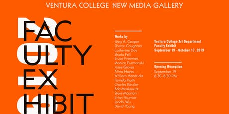 Faculty Art Exhibit Reception at New Media Gallery tickets