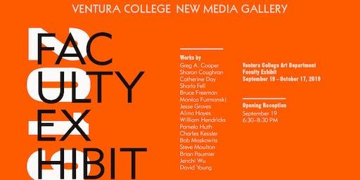 Faculty Art Exhibit Reception at New Media Gallery