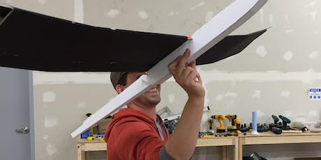 Laser Airplane Making tickets