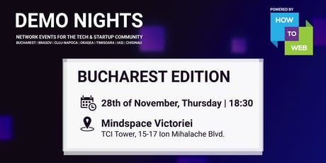 Demo Nights Bucharest & Throwback 2019 tickets