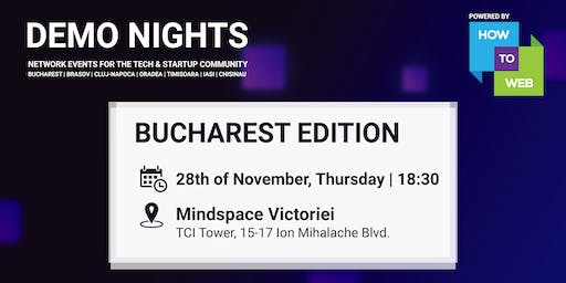 Demo Nights Bucharest & Throwback 2019