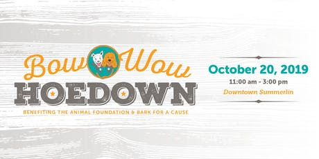 Bow Wow Hoedown VIP Wag Bag tickets