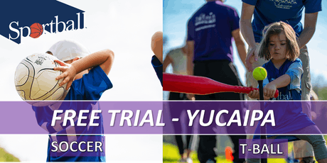 FREE TRIAL - Sportball Soccer & T-Ball/Baseball - ages 2 - 8yrs tickets