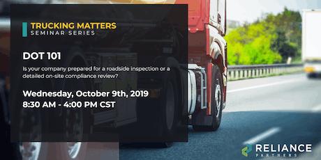 Trucking Matters: DOT 101 tickets