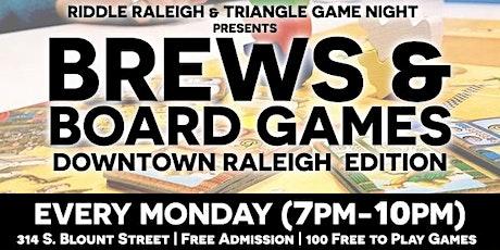 Brews & Board Games (DT Raleigh Edition) tickets