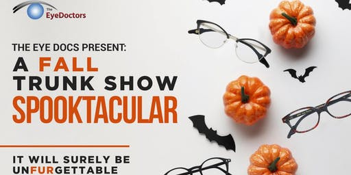 The Eye Doctors Fall Trunk Show Spooktacular