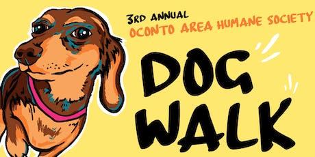 3rd Annual OAHS Dog Walk tickets