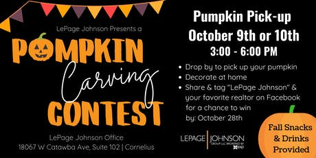 LePage Johnson Client Pumpkin Decorating Contest tickets