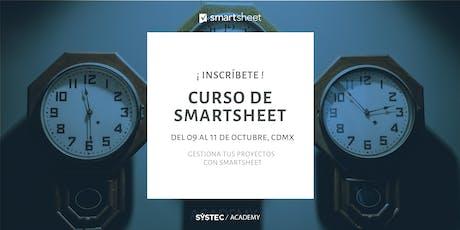 Gestiona tus proyectos con Smartsheet  entradas