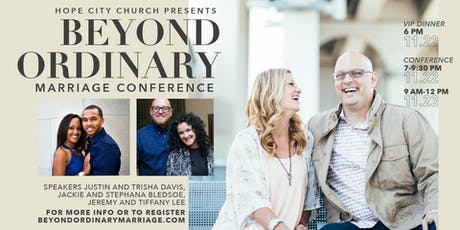 Beyond Ordinary Marriage Conference tickets