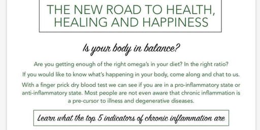 New Road to Health, Healing and Happiness