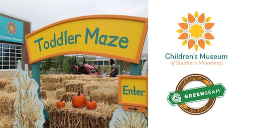COUPON: Children's Museum of Southern Minnesota - Gather in the GreenSeam