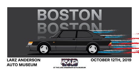 RADwood Boston at the Larz Anderson Auto Museum - 1980s/1990s Car Show tickets