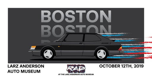 RADwood Boston at the Larz Anderson Auto Museum - 1980s/1990s Car Show