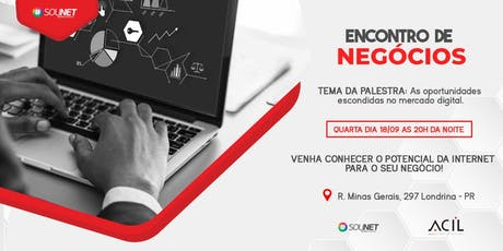 AS OPORTUNIDADES ESCONDIDAS NO MERCADO DIGITAL ingressos