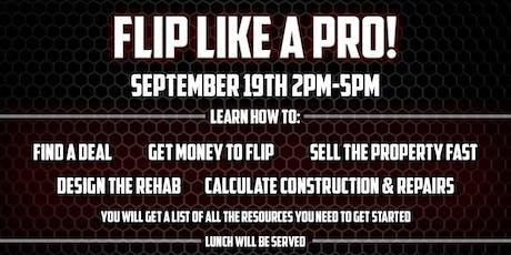 Flip Like a Pro! tickets