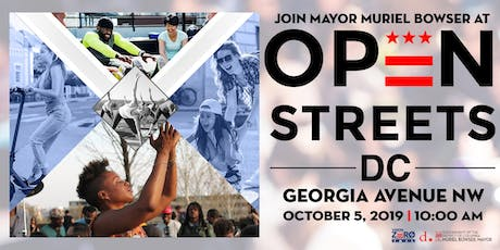 Mayor Muriel Bowser Presents Open Streets DC tickets