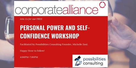 Personal Power and Self-Confidence Workshop tickets