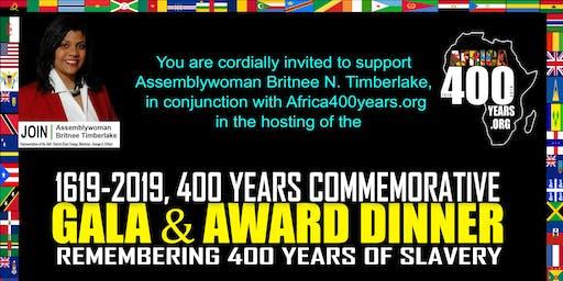 ASW Timberlake  & Africa400Years Gala Award Dinner