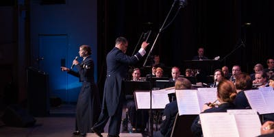 US Air Force Band of the Golden West Concert Band in Stockton