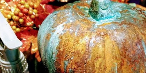 Pumpkin with Patina Class
