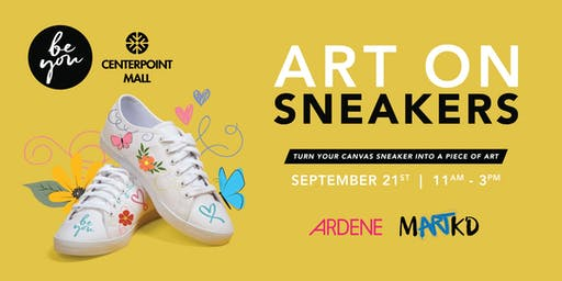 BeYou -  Art on Sneakers - 12-1pm