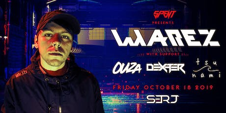 SPENT Entertainment proudly presents Warez on Friday October 18th at SERJ. tickets