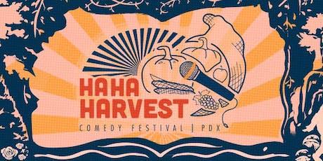 Ha Ha Harvest Comedy Festival tickets