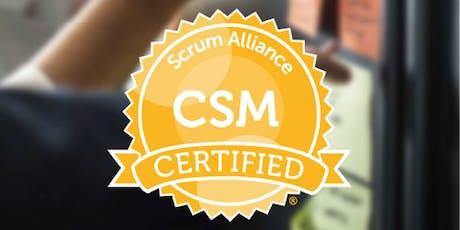 Certified Scrum Master (CSM) Training Workshop in Washington DC by Fadi Stephan tickets
