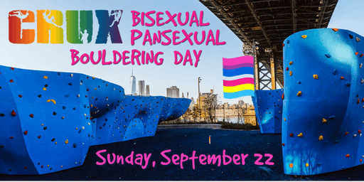 CRUX LGBTQ Climbing - Bisexual and Pansexual Bouldering