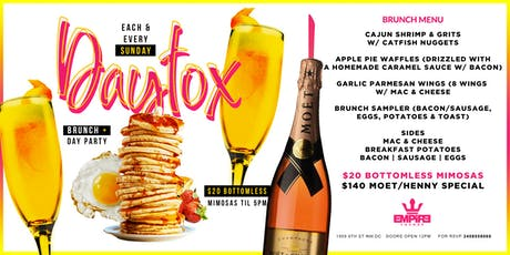 DAYTOX SUNDAYS: A BRUNCH & DAY PARTY tickets