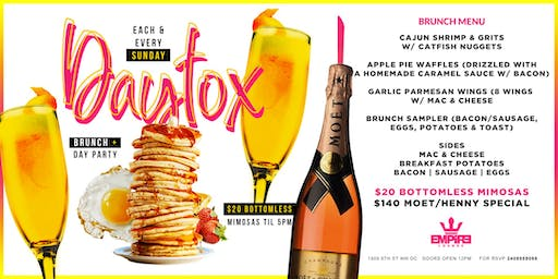 DAYTOX: A BRUNCH & DAY PARTY