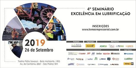 4º Seminário Excelência em Lubrificação ingressos