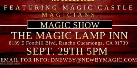 PRIVATE CLOSE UP MAGIC SHOW tickets