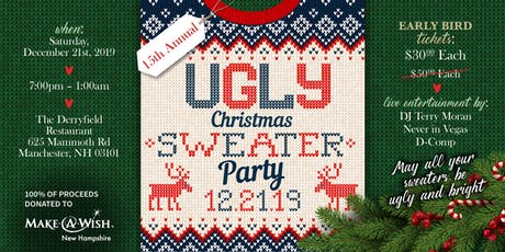 "15th Annual ""Ugly Christmas Sweater Party"" tickets"