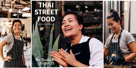 Thai Street Food With Chef Roong tickets