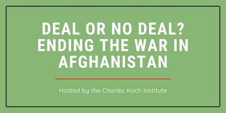 Deal or No Deal? Ending the War in Afghanistan tickets