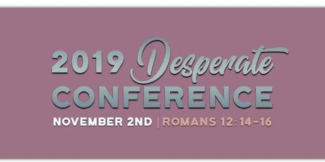 Desperate Conference 2019 tickets