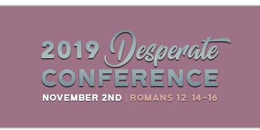 Desperate Conference 2019