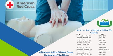 Adult and Infant/Pediatric CPR/AED (Blended Learning) tickets