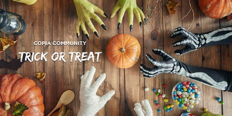 Copia Community Trick-or-Treat tickets