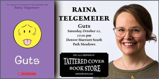 An Afternoon with Raina Telgemeier, Book Talk & Signing