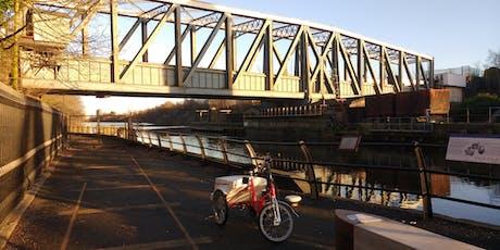The Two Tons  - a circular  canal walk between Barton & Monton tickets