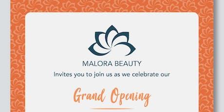Malora Beauty Grand Opening tickets